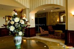 Lobby of Upscale Hotel