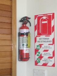 Kitchen Safety (Fire Extingwisher)