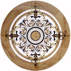 Marble Medallion Floor Design