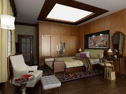 Bedroom with Skylight