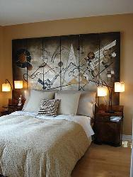 Large Size Bed Headboard