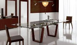 Wooden and Glass Dining Furniture