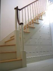 Stair (storage idea under stairs)
