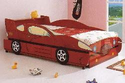 Kids Room Furniture Car Bed