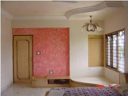 Bedroom False ceiling and Wall painting