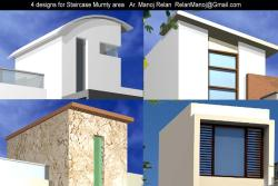 Four design for Staircase Mumty area