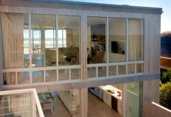 Entry Deck of Ocean Walk House, Fire Island