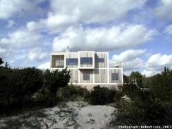 Exterior view of Sugar Hill House, Fire Island
