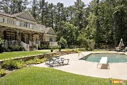 Front View with lovely swimming pool