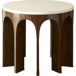 Baker Furniture USA Living room Arcade Center Table W/ Stone Top