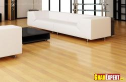 Hardwood textured flooring for living room