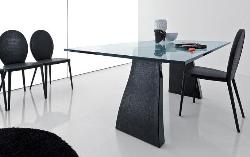 Simple Office Table and reception area