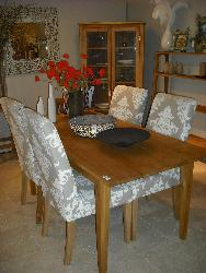Small four seater dining table