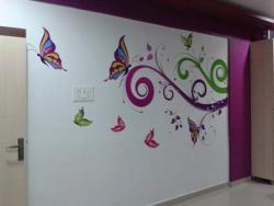 Residential  Interior Wall Graphic for Office
