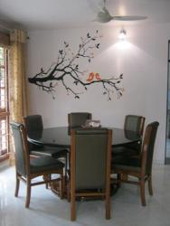 Residential Interior wall Graphic For Dining Area