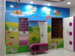 Residential Interior Wall Graphic for Play House