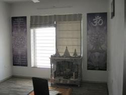 Residential Interior wall Graphic For Temple Room