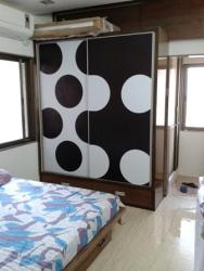 Residential Interior Wardrobe Graphic For Master Bed Room