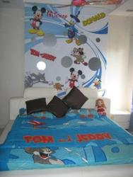 Residential Interior Wall Graphic For child Bed Room