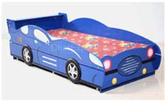Car style bed design