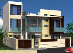 Exterior Elevation 3-D concept with italian cladding