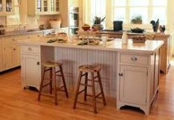 Kitchen and seating design