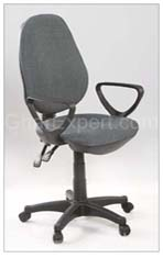 Grey office workstation Chair