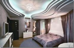 False ceiling, furniture, flooring and walls for Master Bedroom