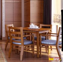 4 seater contemporary wooden dining furniture