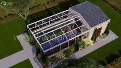 3D Architectural Green House Design