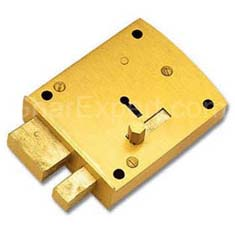 Brass Door Locks 2 in 1