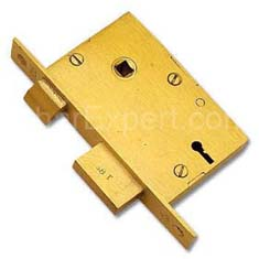 Brass Mortice Single Door Lock