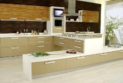 Extremely exotic Wooden Italian kitchen design