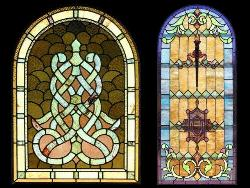 Stained glass contemporary design for Windows and Doors