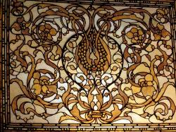 Stained glass contemporary design for Ceiling