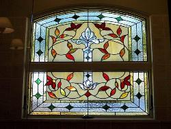 Stained glass contemporary design