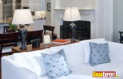 Simple and elegant table lamps for living room