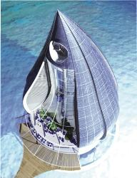 Water droplet resort