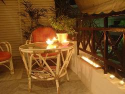 Night View Of a Veranda