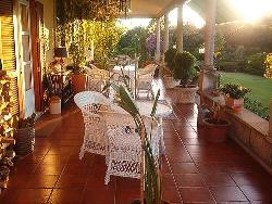 Cane Furniture in Veranda
