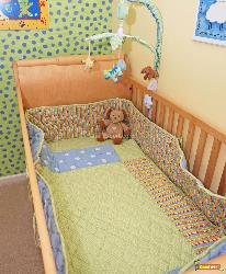 Baby Bed in a Kids Room