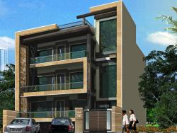 exterior for RESIDENCE AT RW 56,MALIBU TOWNE, GURGAON