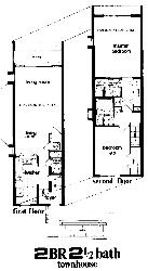 Town Home floorplan