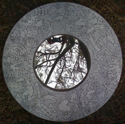 round mirror from south africa