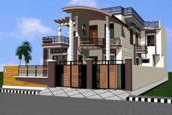 Morden_House_Design_front_elevation 2