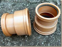 Clayware drainage pipes