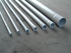 PVC pipes for drainage system