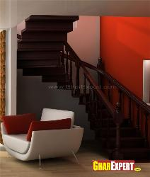 Curved Stairs Design