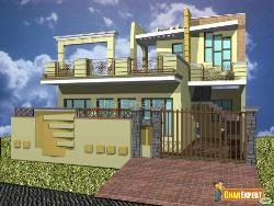 GharExpert exterior elevation design