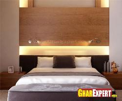 Wooden Bed Headboard